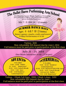Summer Dance Days 2014